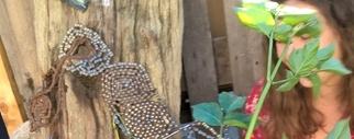 De nouvelles créatures au jardind'Yvonne