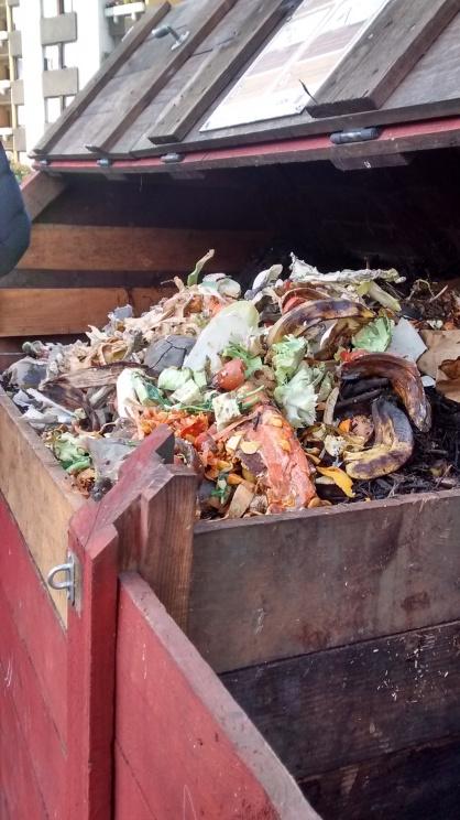 le compost déborde !